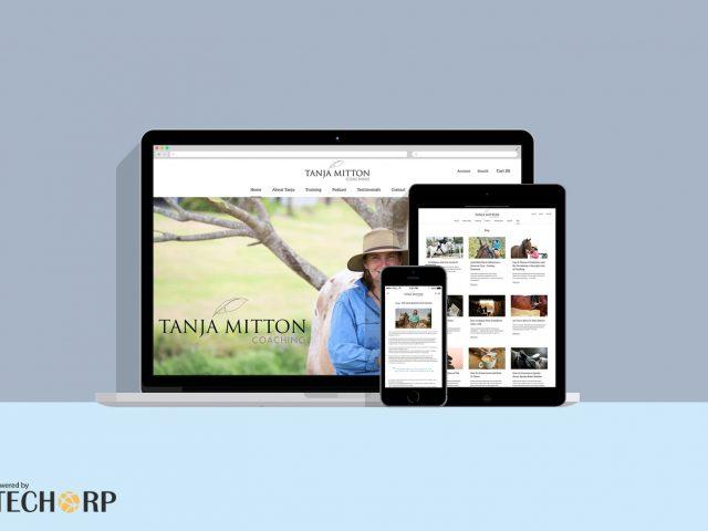 Tanja Mitton Coaching — WordPress